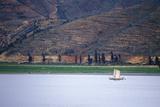 Fishing Junk on Erhai Lake in Dali  Yunnan Province  People's Republic of China