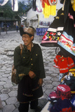 Man from Tibet in Bei Marketplace in Dali  Yunnan Province  People's Republic of China