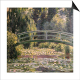 The Japanese Footbridge  Giverny