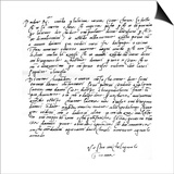 Letter to His Father  Leonardo Di Buonarrota Simoni  at Florence  Contradicting a Rumour of His