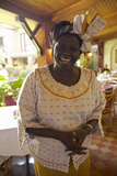 Nobel Peace Prize Winner  Wangari Maathai at Norfolk Hotel Meeting in Nairobi  Kenya  Africa