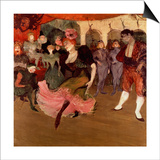 Marcelle Lender Dancing the Bolero in 'Chilperic'  1895