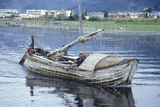 Fishermen on Erhai Lake in Dali  Yunnan Province  People's Republic of China