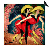 Dancers in Red  1914