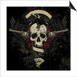 Raven Skull Collage