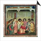 Christ Washing the Disciples' Feet  c1305 (Post Restoration)
