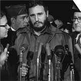 Fidel Castro arrives at MATS Terminal  Washington  DC  c1959