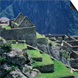 Machu Picchu Overlooking the Sacred Urubamba River Valley  Machu Picchu  Cuzco  Peru
