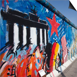 Eastside Gallery (Berlin Wall)  Muhlenstrasse  Berlin  Germany