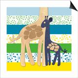 Giraffe Family
