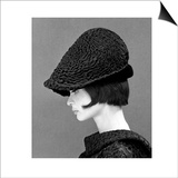 Marie Lise Gres in a Persian Lamb Hat  Summer 1964