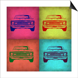 Chevy Camaro Pop Art 1