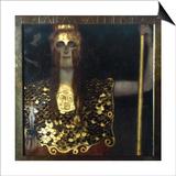 Klimt: Pallas Athena  1898