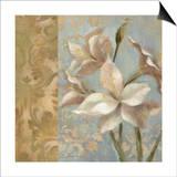 Amaryllis on Soft Blue