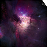The Center of the Orion Nebula  Trapezium Cluster Hii Regions Within the Spiral Arms of Galaxies
