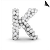 Letter K  From Voleyballs