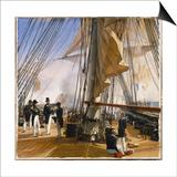 La Flotte française est commandée par l'amiral Roussin Salle de Constantine