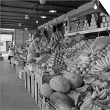 Retail Vegetable Markets Line the Decatur Street Side of the French Market
