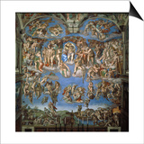 The Last Judgement  1534-41