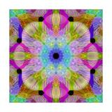 Rainbow Rise Mandala