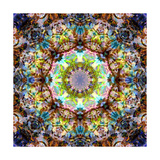 Flower & Hair Mandala Blossom IV