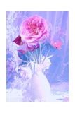 Dreamy Lavender Garden Rose I