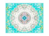 Delicate Aqua Mandala