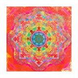 Translucen Color Energy Mandala
