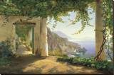 View to the Amalfi Coast