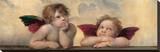 Detail of the Sistine Madonna  c1514