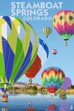 Steamboat Springs  Colorado - Hot Air Balloons