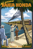 Bahia Honda  Florida Keys - Railroad Scene