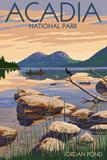 Acadia National Park  Maine - Jordan Pond