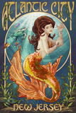 Atlantic City  New Jersey - Mermaid