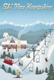 New Hampshire - Retro Ski Resort