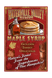 Waterville Valley Region  New Hampshire - Maple Syrup Sign
