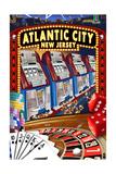 Atlantic City  New Jersey - Casino Scene
