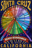 Santa Cruz  California - Beach Boardwalk Ferris Wheel