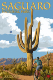 Saguaro National Park  Arizona - Bicycling Scene