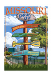 Kansas City  Missouri - Signpost Destinations
