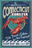 Connecticut - Lobster Shack Vintage Sign