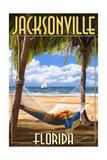 Jacksonville  Florida - Palms and Hammock