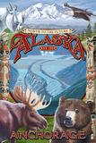 Anchorage  Alaska - North to the Future Montage