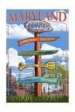 Annapolis  Maryland - Sign Destinations