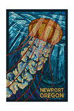 Newport  Oregon - Jellyfish Mosaic