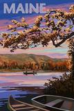 Maine - Lake at Dusk