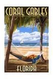 Coral Gables  Florida - Palms and Hammock