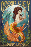 Ocean City  Maryland - Mermaid