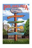 Philadelphia  Pennsylvania - Sign Destinations