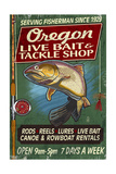 Oregon - Tackle Shop Trout Vintage Sign